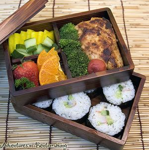 Rectangular Japanese Bento Box made of Cedar and Coated with Natural Lacquer | Life Without Plastic Boutique