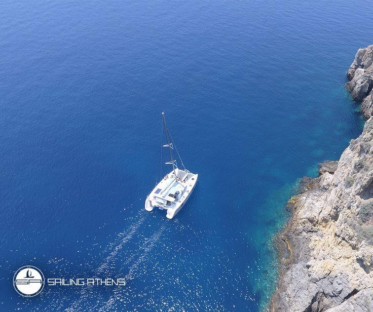 Enjoy the long-lasting greek summer days @ Athens! Sail with us: www.sailingathens.com