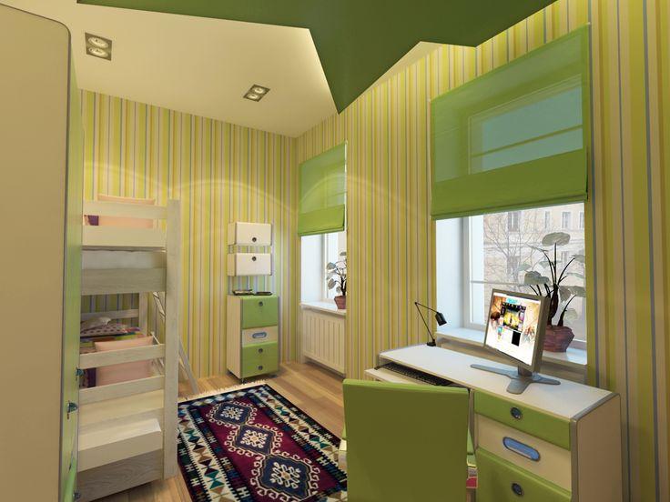 Látványterv gyerekszoba / Architectural visualization Kids room