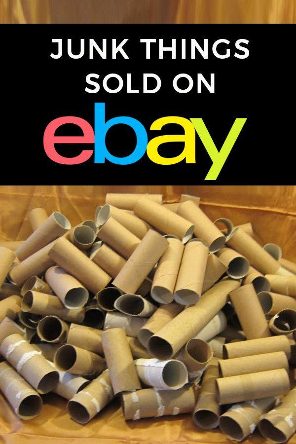 Junk Things Sold On Ebay Ebay Hacks Things To Sell