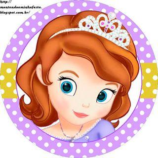 Montando a minha festa: Princesa Sofia Disney