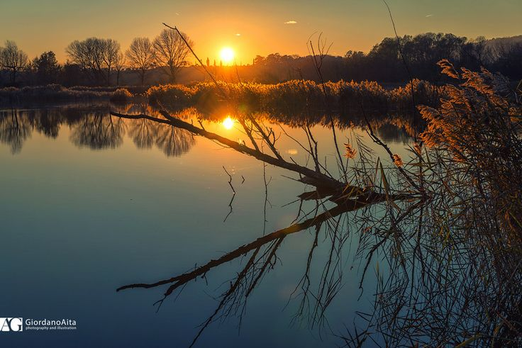 Sunset reflections by Giordano Aita on 500px