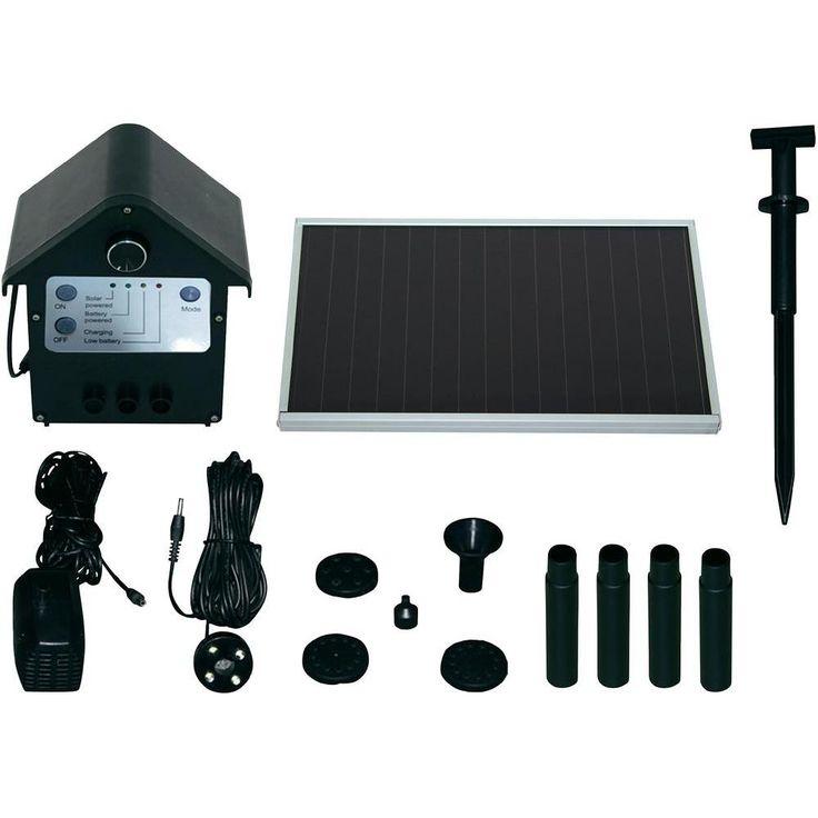 Soldriven dammpumpsats SPS 250/6 TIP Pumpen Set SPS 250/6