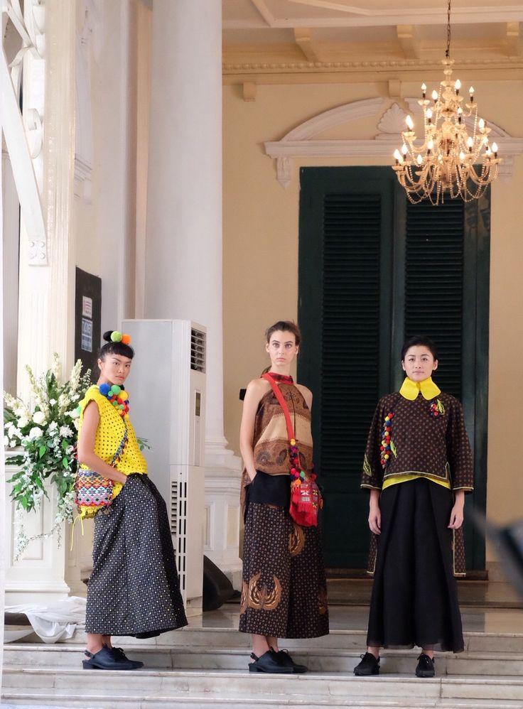 Classic Batik Tulis in 'Ondel Ondel fashion show by Adrian Gan'