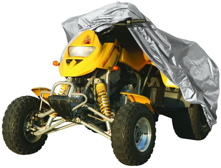 ATV Quad Bike COVER Water Resistant Dust PROTECTOR by Qtech - XL: Amazon.co.uk: Car & Motorbike