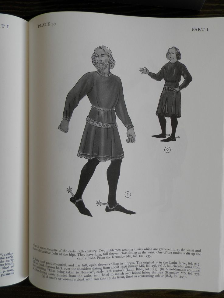 Czech male costume 15th century.