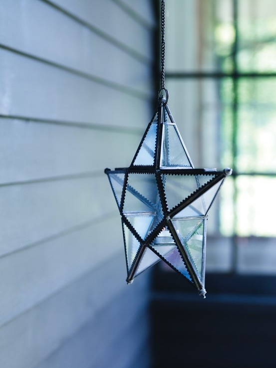 Set the mood with our Star Candle Holder. £26.00.  http://www.coxandcox.co.uk/get-organised/star-candle-holder
