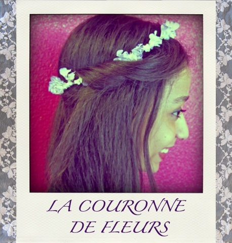 DIY : La couronne de fleurs de SophieBe  Tentée par ce joli headband floral ? Alors suivez les instructions de Sophie notre rédactrice mode !