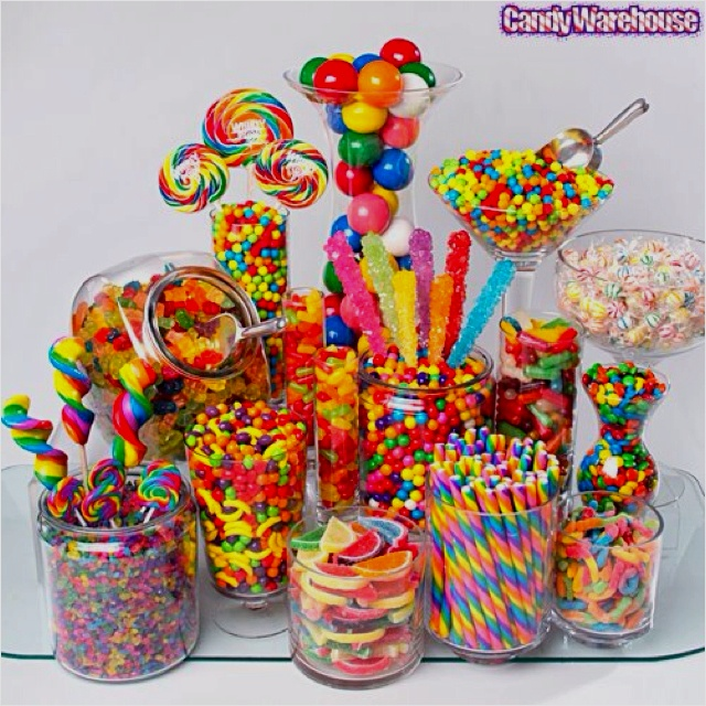 How can a group of kids eat that much candy/lollies?