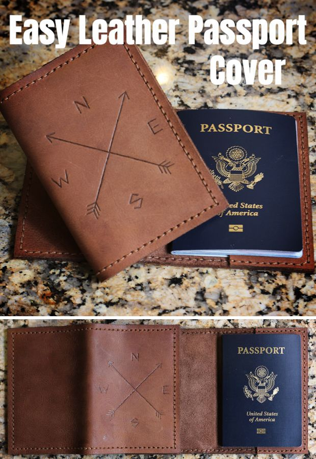 Leather Passport Case - Natural World Hurricane by VIDA VIDA c96ikjC