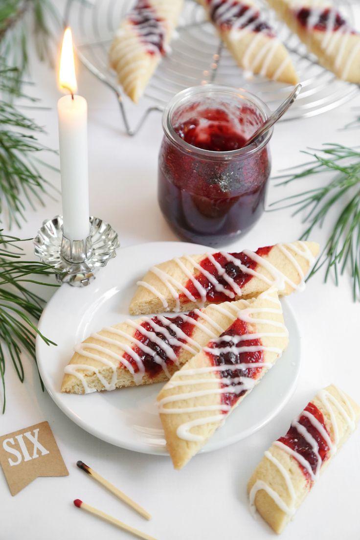 Gift This! Split Second Red Jam Cookies | Sprinkle Bakes