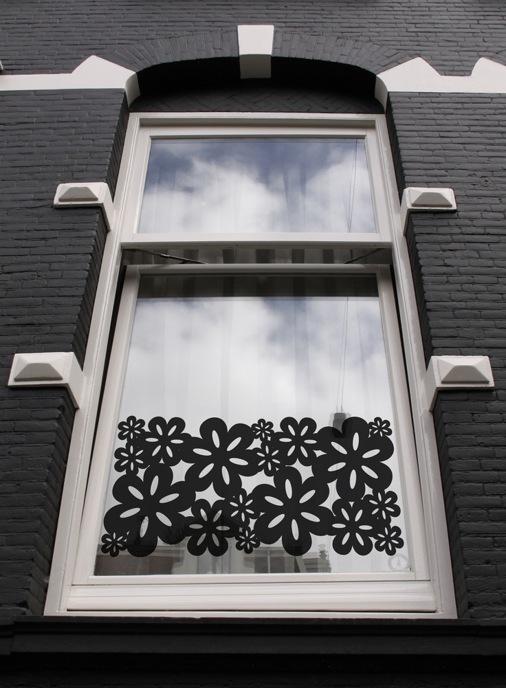 Window sticker Blossom XL from Studio Haikje #raamstickers #design window decals #window films