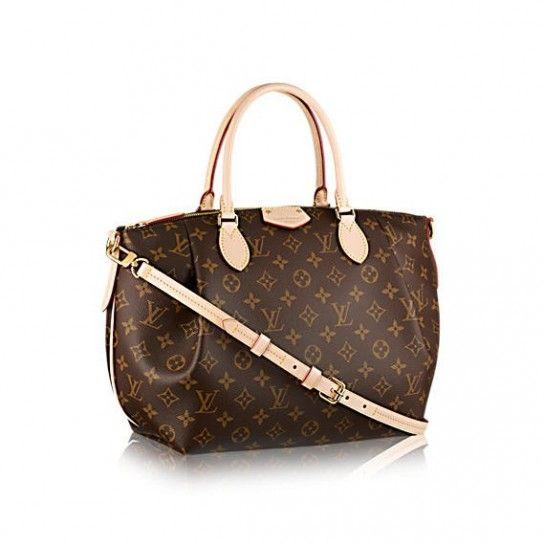 Borsa Turenne - Collezione di borse Louis Vuitton Primavera/Estate 2015: borsa in tela monogrammata