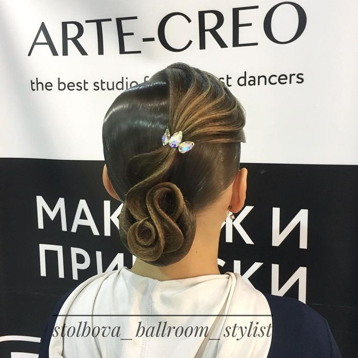 "158 Likes, 1 Comments - Дарья Столбова (@stolbova_ballroom_stylist) on Instagram: ""Вallroom hairstyle by Darya Stolbova Имидж-студия @artecreo Запись/Booking: +7 (977) 804-22-01 /…"""