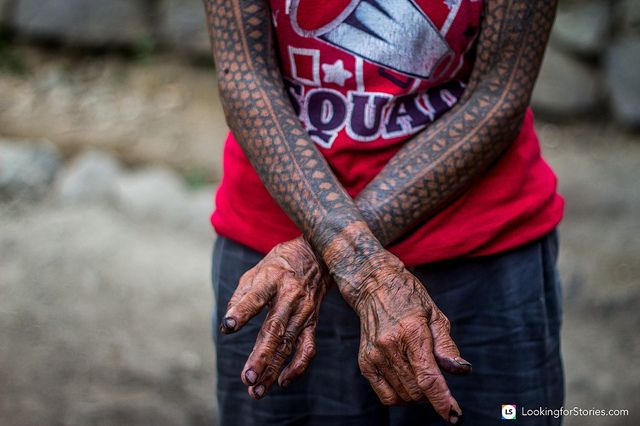 Whang Od is 94 years old and she is the last Kalinga tattoo maker, a practice about a thousand years old. A story of heartbreak  is hiding behind a strong yet serene exterior of this beautiful woman.