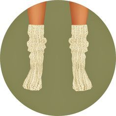 Knit loose socks at Marigold via Sims 4 Updates