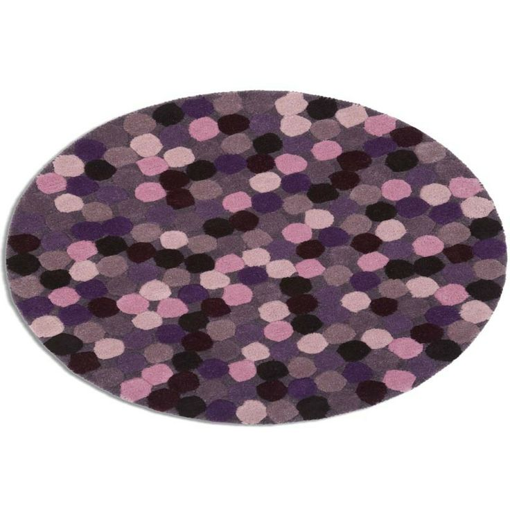 Dotty About Rugs In Purple