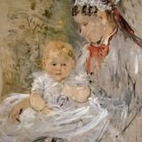 Julie Manet and her Nurse by Berthe Morisot