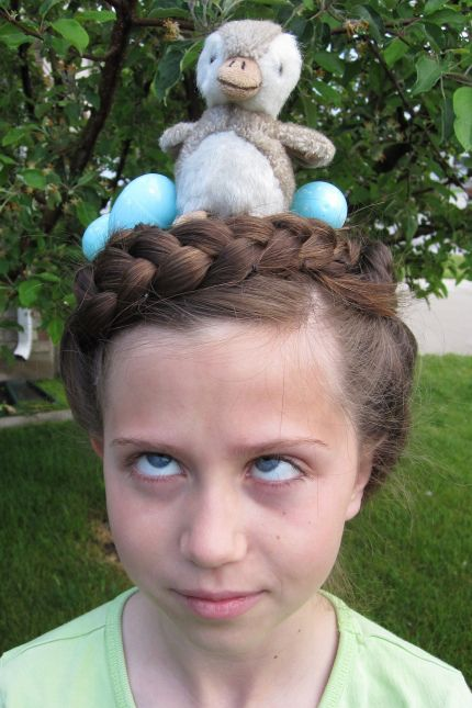 It's official—having your hair look like a bird's nest just became a good thing. Learn more at My Imaginary Blog.