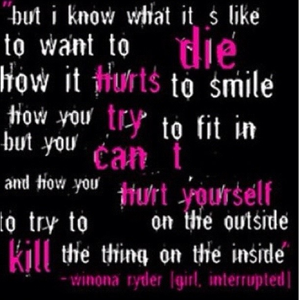 Emo Quotes About Girl: 115 Best Images About INJURED SOUL On Pinterest