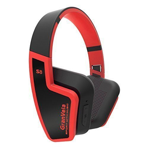 Introducing GranVela S8 Bluetooth 40 Headphones Foldable Wireless Headset with Mic for Running Sport or TravelUp to 8 Hours of Battery LifeAlso Comes with 35mm CableRed. Great Product and follow us to get more updates!