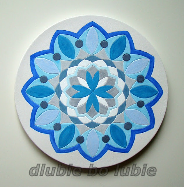 Mandala - decoration from plaster