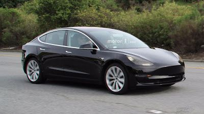 Africa Electric Car: Tesla Model 3 Caught Completely Undisguised, Showi...