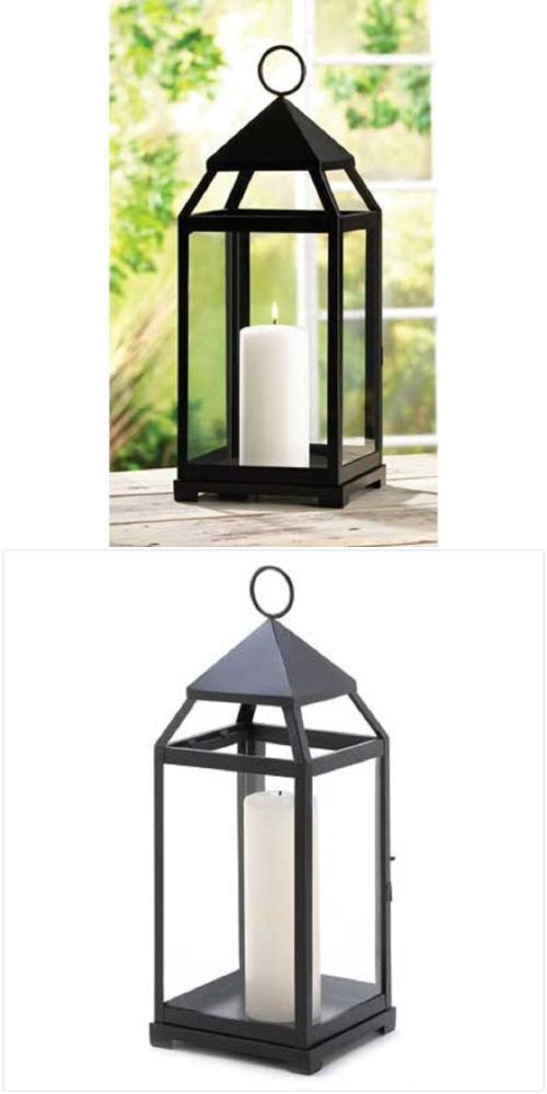 Outdoor D cor Candle Lanterns 183392: 10 Large Contemporary Candle Lantern Wedding Centerpieces Decor 17 High --13347 -> BUY IT NOW ONLY: $278.76 on eBay!