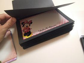 DIY Disney Autograph Books- free downloadable prints for the characters to sign.