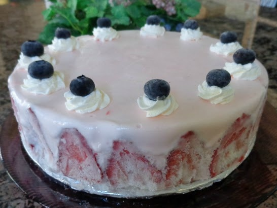 Inside-Out Strawberry Ice Cream Cake. | Culinary Love | Pinterest