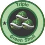 Triple green shells from the official artwork set for #MarioKart64 on the #N64. #MarioKart #Mario #Nintendo64. Visit for more info http://www.superluigibros.com/mario-kart-64