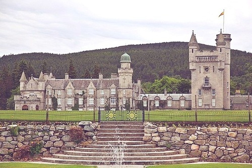 Balmoral Castle-Scotland Gordon clan (heritage)