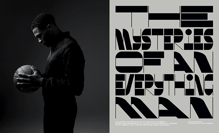 New York Times Magazine designer Ben Grandgenett