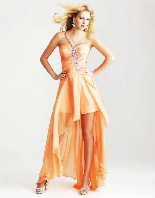 17 best ideas about Orange Cocktail Dresses on Pinterest | Shoes ...