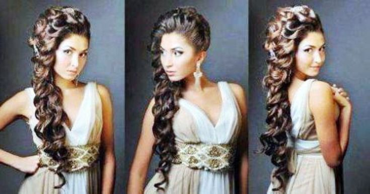 Quinceanera hairstyles, Quinceanera and Hairstyle for long hair on ...