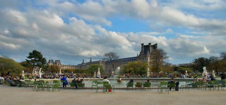 Октябрь в Париже 9