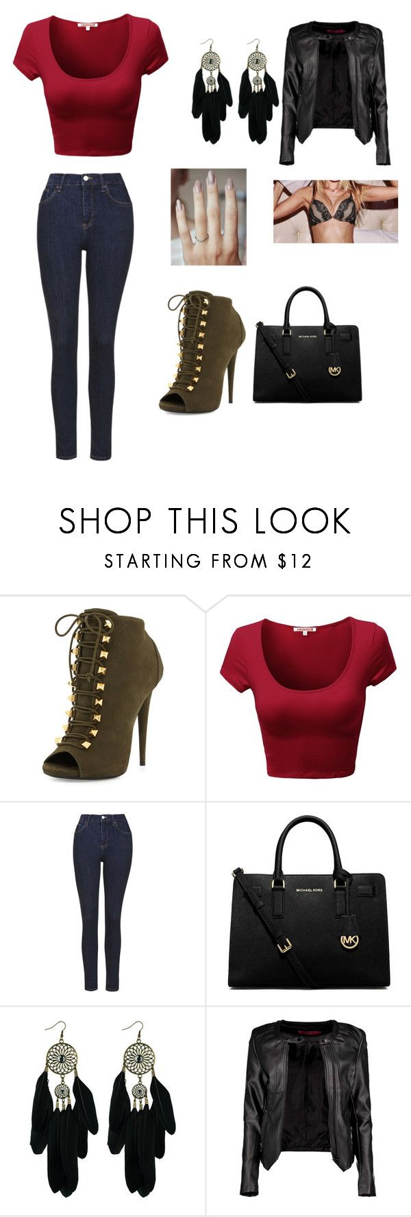 """""""with Cameron Dallas, Alex aiono, Madison beer,  Andrea russet, and Crawford Collins"""" by slayyeettia ❤ liked on Polyvore featuring Giuseppe Zanotti, Topshop, MICHAEL Michael Kors, Boohoo, BOMBSHELL, women's clothing, women's fashion, women, female and woman"""