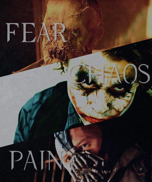 Fear Chaos & Pain: The Three Major  Themes in Christopher Nolan's Batman Trilogy
