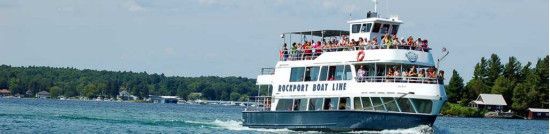 Heart Of The 1000 Islands Cruise. Rockport Boat Line 23 Front Street,Rockport, ON, K0E 1V0, Ottawa Region Tel.: 613- 659-3402   	Toll-free: 1-800-563-8687  	Fax: 613- 659-2000