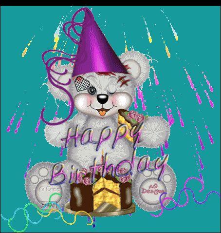 Animated Happy Birthday | tarjetas de cumple | Pinterest ... Animated Happy Birthday Wishes For Men