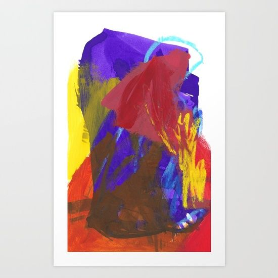 """""""How To Keep Calm When Everything Is Falling Apart"""" abstract art by Leanne Simpson. This artwork is available at Society6 as an art print, phone case, tote bag and more! https://society6.com/leannesimpsonart"""