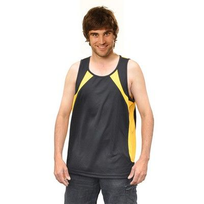 Mens Cooldry Sprint Singlet Min 25 - Clothing - Sports Uniforms - Teamwear Tees - WS-TS731 - Best Value Promotional items including Promotional Merchandise, Printed T shirts, Promotional Mugs, Promotional Clothing and Corporate Gifts from PROMOSXCHAGE - Melbourne, Sydney, Brisbane - Call 1800 PROMOS (776 667)