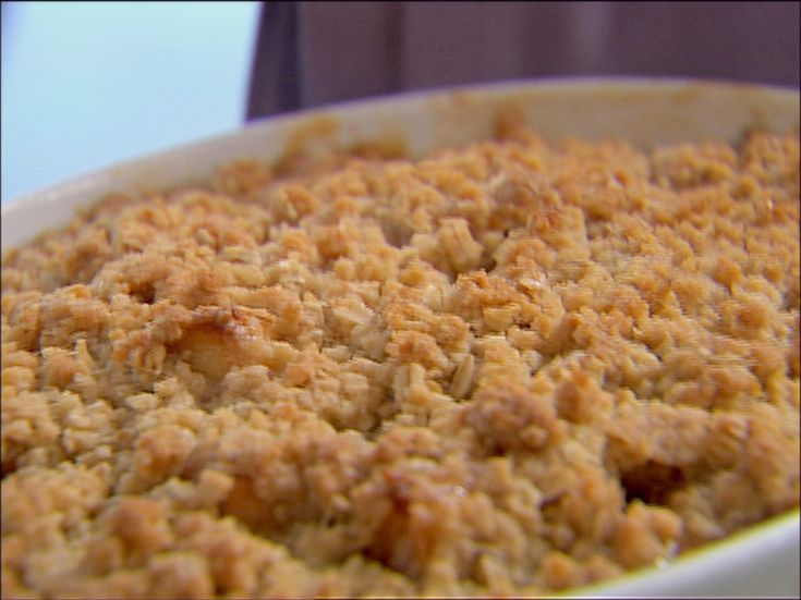 Apple and Pear Crisp from FoodNetwork.com