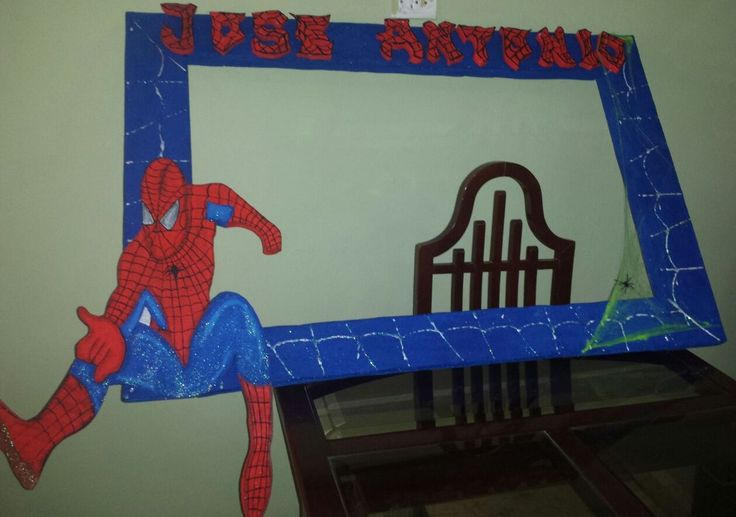 Photo Booth Spiderman Party Amp Fantasy Pinterest