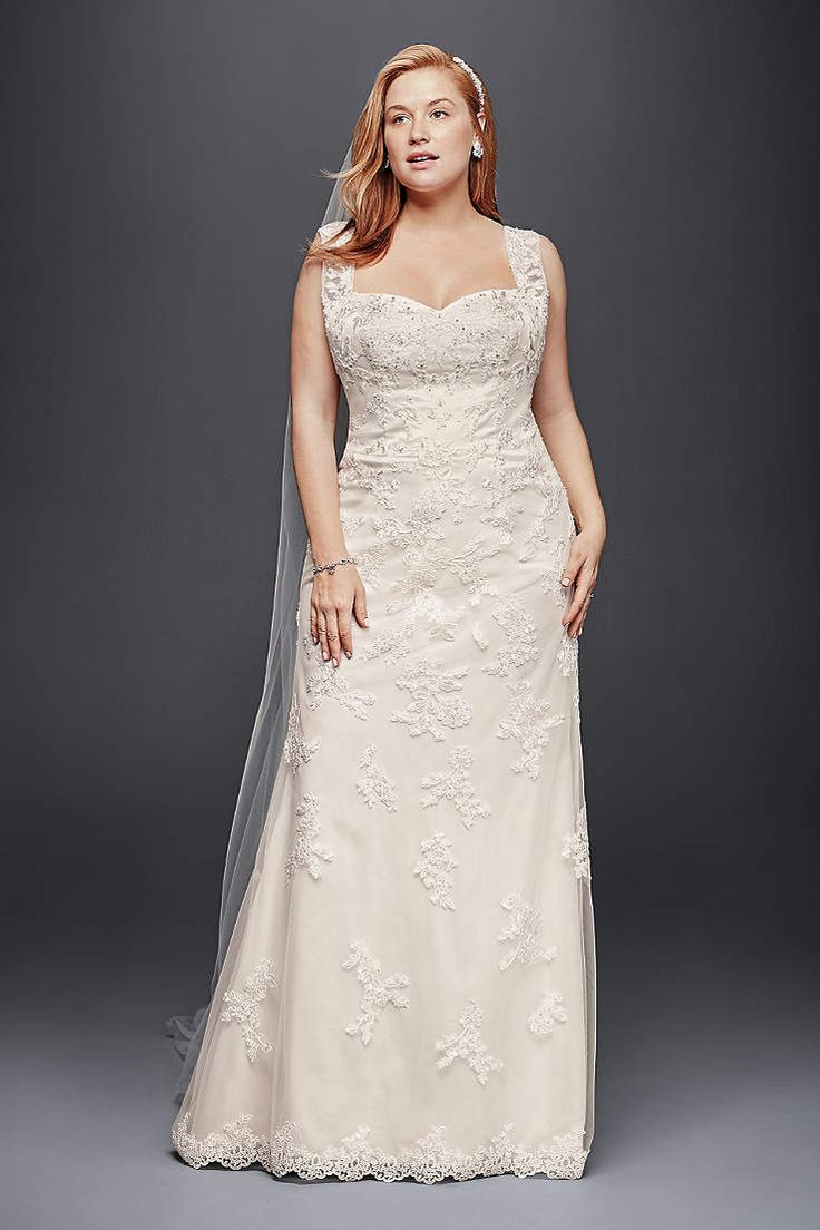 Awesome David us Bridal has beautiful plus size wedding dresses that e in a variety of sizes u