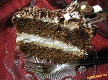 Tvarohovo šlehačkové řezy Tvarohovo šlehačkový dort