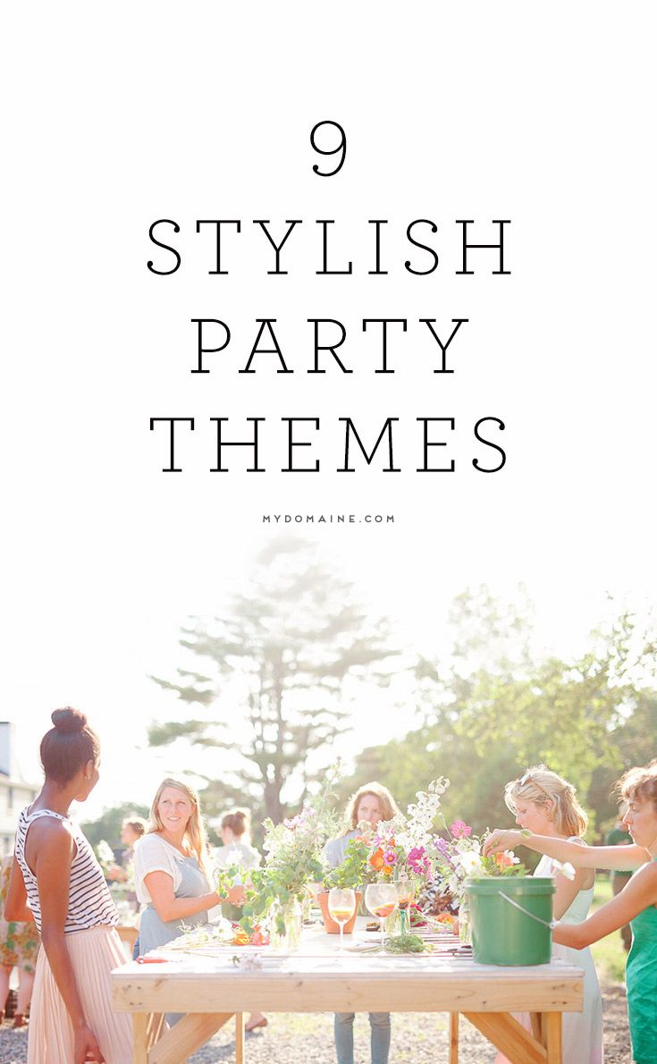 183 best party theme ideas | group board images on Pinterest ...