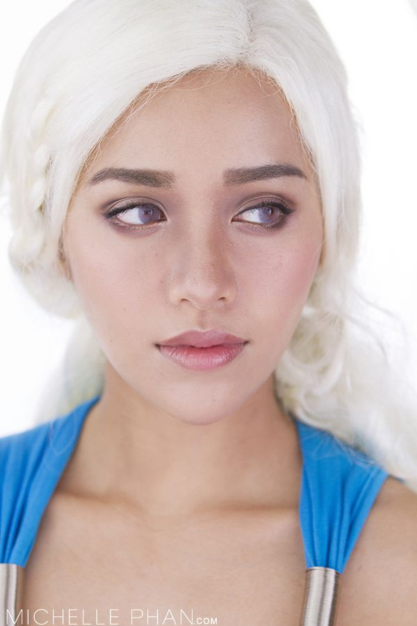 Daenerys from game of thrones makeup tutorial by michelle for Daenerys targaryen costume tutorial