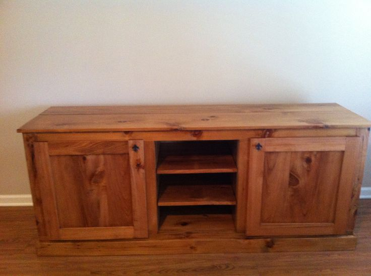 Wooden Homemade Entertainment Center Pictures PDF Plans