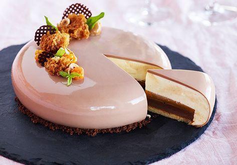 Hjortron, nougat och vaniljtårta — Martin & Servera